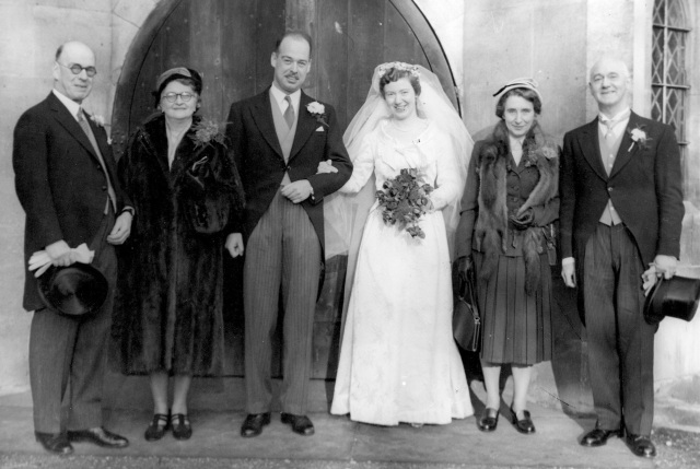 Moser - Dixon Wedding 1955