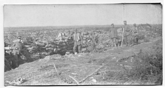 Photo from the Eastern Front taken by August Schmidt