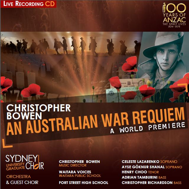 An Australian War Requiem - Program