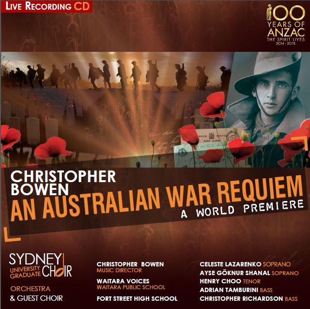 An Australian War Requiem - Program