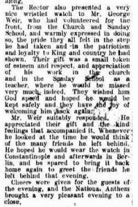 From the Kiama Independent and Shoalhaven Advertiser Wednesday 11 August 1915